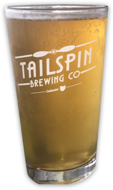 Tailspin Beer Glass